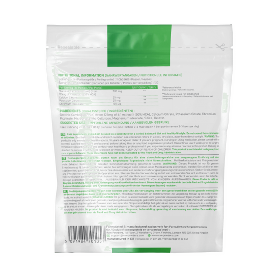 Garcinia Cambogia 500 mg 120 Capsules