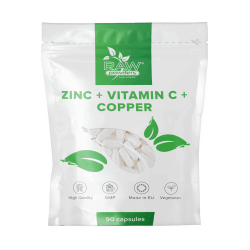Zinc + Vitamin C + Copper 90 capsules