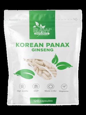 Korean Panax Ginseng 2000mg 120 capsules