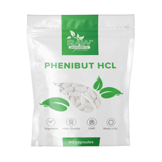 Phenibut HCL 500 mg. 90 Capsules