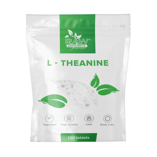 L-Theanine 200 mg. 120 Tablets