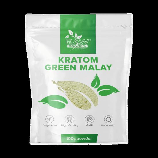 Kratom Green Malay Powder 100 grams